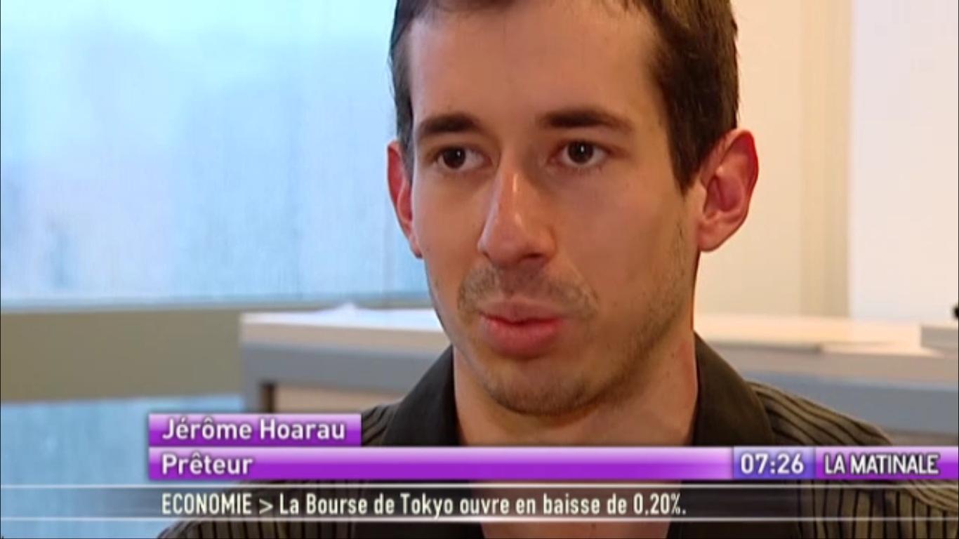 Jerome Hoarau sur CanalPlus
