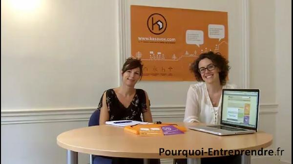 femmes entrepreneurs fondatrices de Kasavox Laurence Boudaud et Valérie Verrecchia