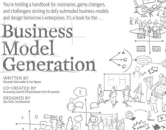 Business model generation sur Pourquoi entreprendre