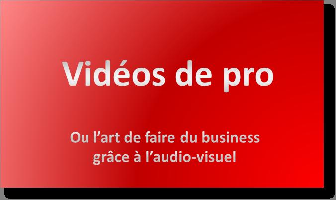 Conseils et formation pour apprendre l'art de vendre grâce à la vidéo