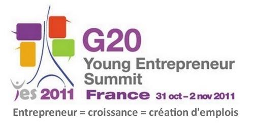 Les entrepreneurs au sommet  G20 Young Entrepreneur Summit en France