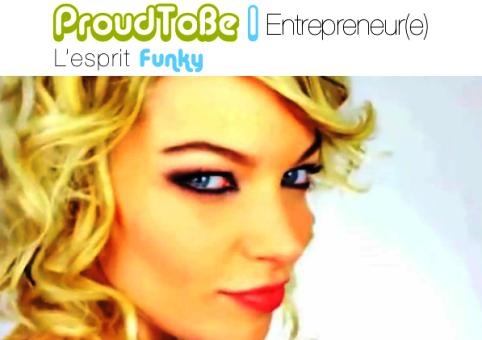 funky entrepreneur proud to be entrepreneur