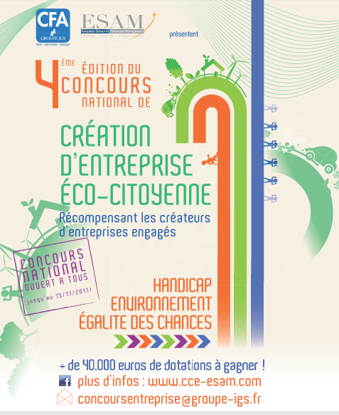 concours creation entreprise eco-citoyenne