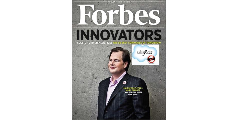 salesforce.com lentreprise plus innovante du monde