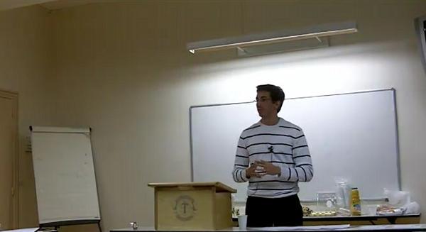 Video Discours Toastmasters 1 schéma vaut 1000 mots par Jerome Hoarau