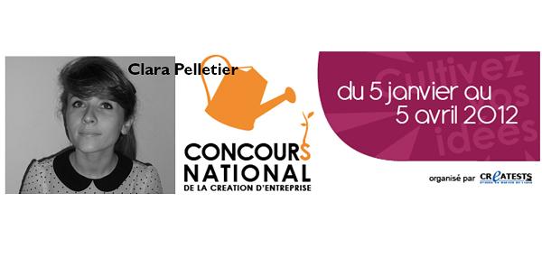 Clara Pelletier - concours national de création d'entreprise