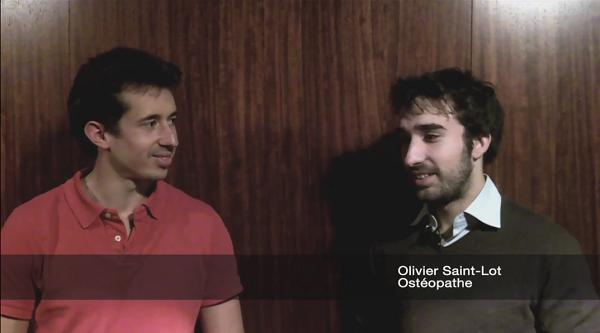Olivier Saint-Lot Ostéopathe à Pris