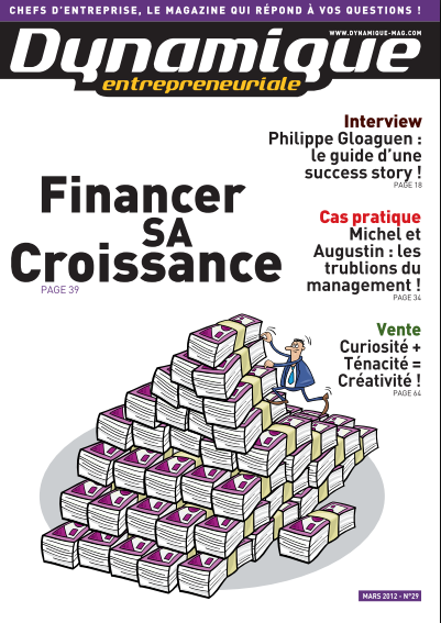 Télécharger le magazine des dirigeants et des créateurs d'entreprise TPE et PME mars 2012