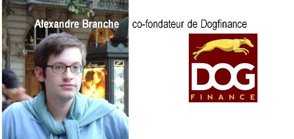 alexandre branche co-fondateur dogfinance