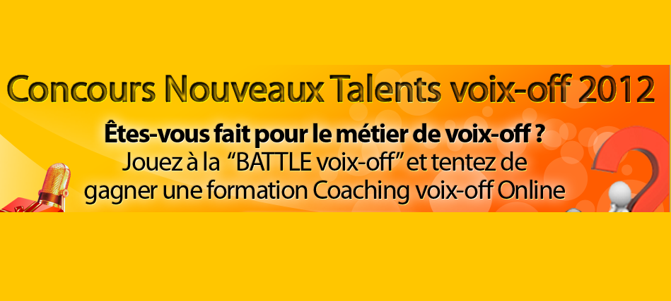 concours talents voix off cvo 2012