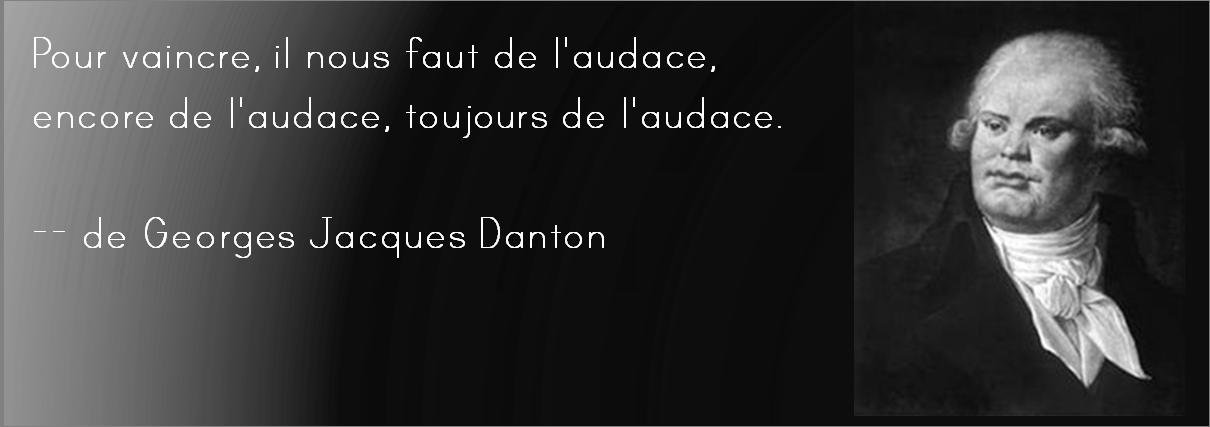 Danton audace