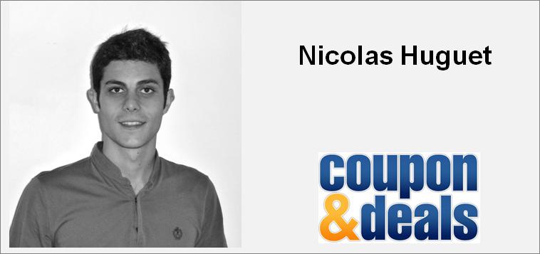 Nicolas Huguet Coupon&Deals