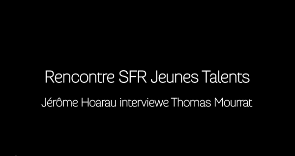 Jerome Hoarau interviewe Thomas Mourrat