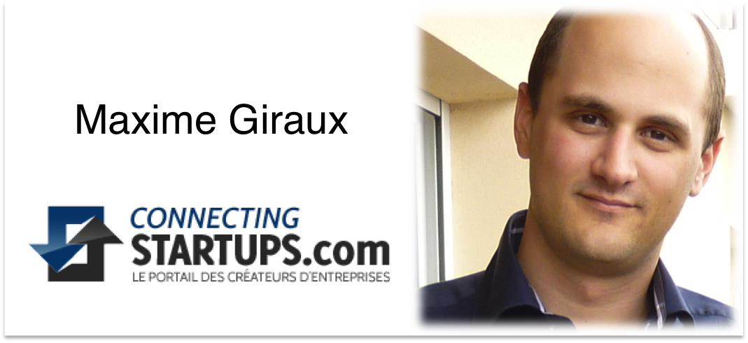 Maxime Giraud connecting startups