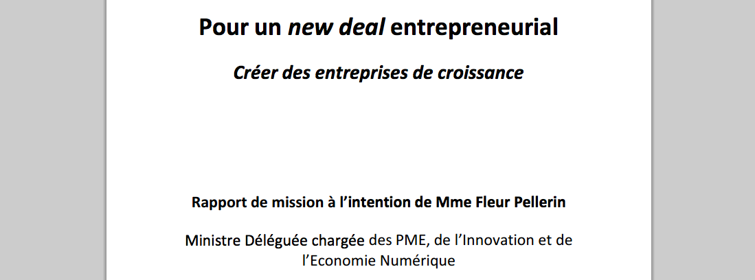 new deal entrepreneurial