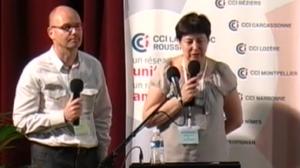 Yann Papastratis et Marie-Helene Girbau-Grimoin