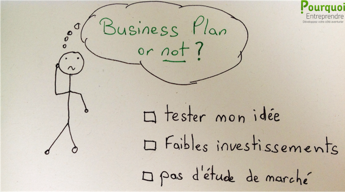 pas de business plan