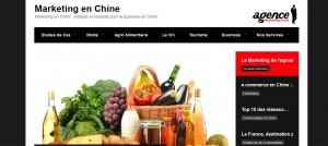 marketing CHine site