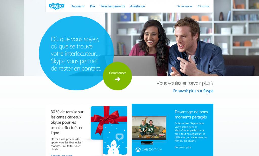 Appels Internet Skype gratuits et appels téléphoniques en ligne économiques   Skype