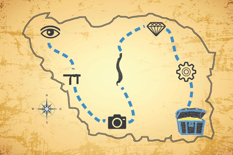 carte aux trésors creaprezent