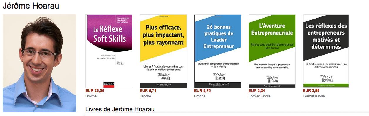 livres Jérôme Hoarau