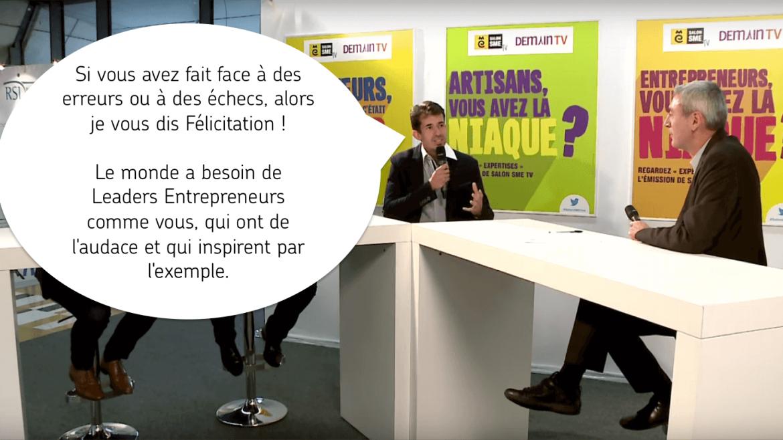 félicitation leaders entrepreneurs