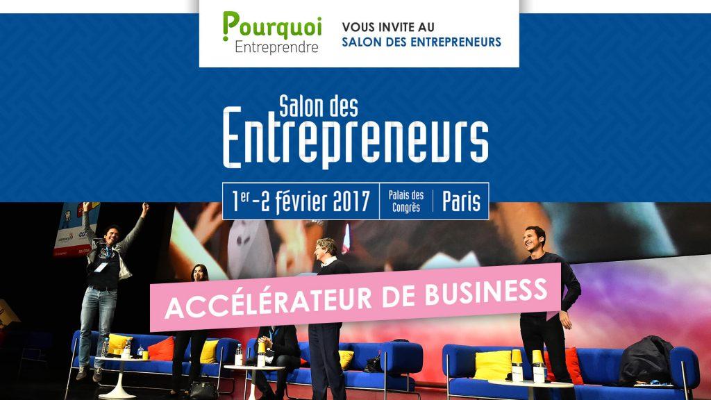 Jérôme Hoarau au Salon des Entrepreneurs 2017
